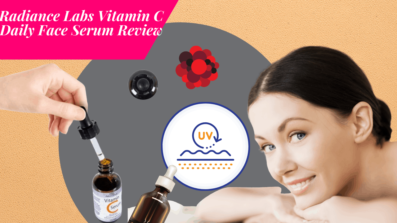 Radiance labs Vitamin c daily face serum