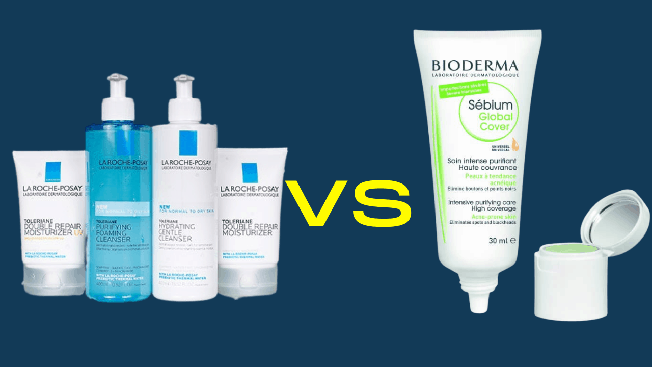 Bioderma vs La Roche-Posay For Acne - Which Acne Treatment Is The Best?